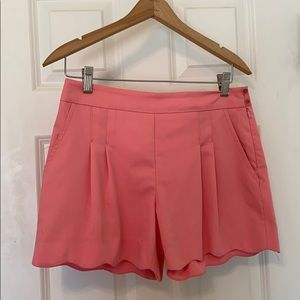 Trina Turk scalloped shorts